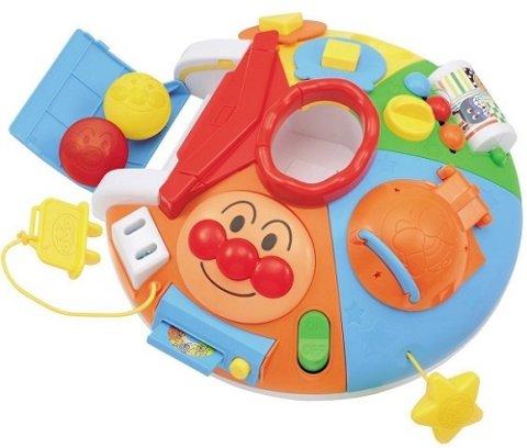 要出典 生後6ヶ月 おもちゃ バンダイ べビラボ アンパンマン ~脳を育む~まんまる!いたずらあそびDX