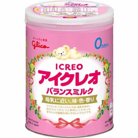 要出典 粉ミルク グリコ アイクレオ バランスミルク