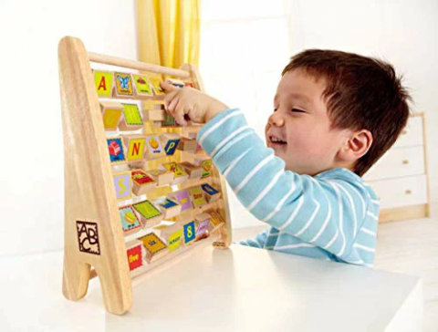 要出典 3歳 おもちゃ ハペ アルファベット アバカス