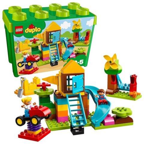 要出典 3歳 おもちゃ 男の子 レゴ デュプロ みどりのコンテナスーパーデラックス おおきなこうえん