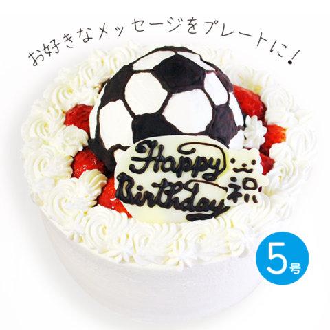 要出典 こどもの日 サッカーボールの立体 デコレーションケーキ