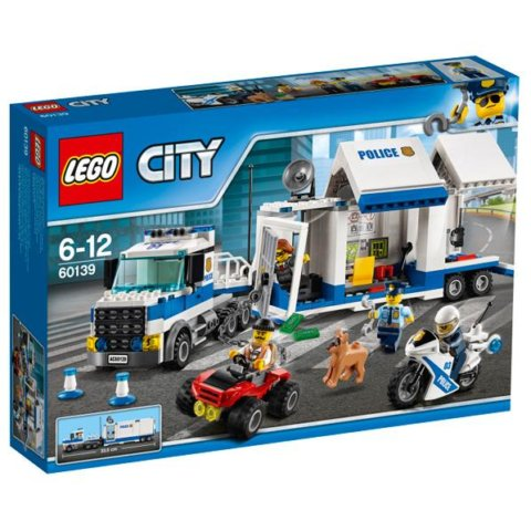 要出典  レゴブロック レゴ  シティ ポリストラック司令本部 60139