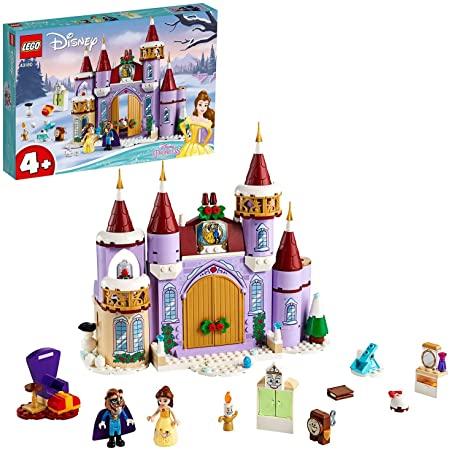 要出典 レゴブロック レゴ ディズニー・プリンセス ベルのお城のウィンターパーティー 43180