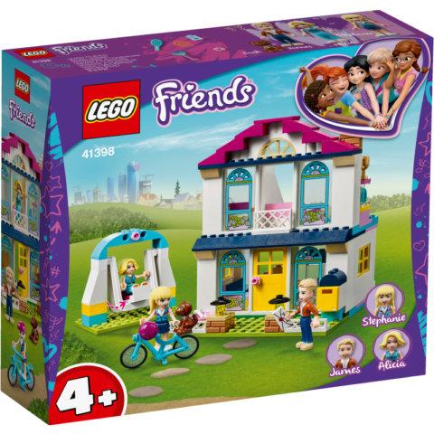 要出典 レゴブロック レゴ  フレンズ ステファニーのハッピーハウス 41398