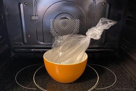 アイラップ 離乳食 初期 すりつぶしにんじん 作り方2