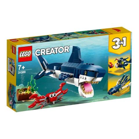要出典 レゴブロック レゴ クリエイター 深海生物 31088