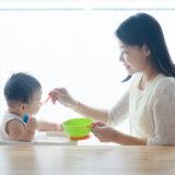 離乳食  初期 親子