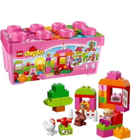 要出典 女の子 おもちゃ レゴデュプロ ピンクのコンテナデラックス