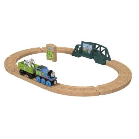 要出典 電車 おもちゃ きかんしゃトーマス 木製レールシリーズ アニマルパークセット