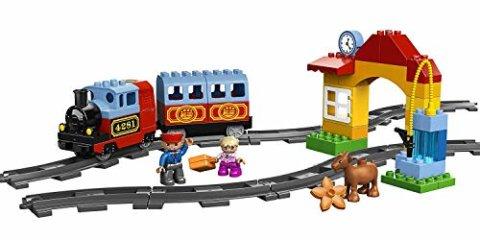 要出典 電車 おもちゃ レゴ デュプロ はじめてのトレインセット
