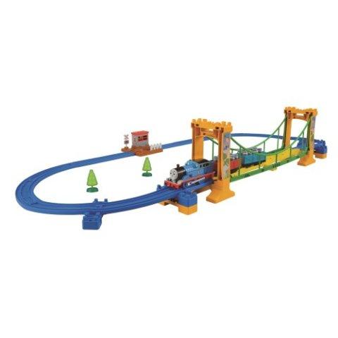 要出典 電車 おもちゃ タカラトミー プラレール きかんしゃトーマス ぐらぐらつり橋セット
