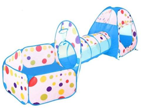 要出典 1歳 男の子 誕生日 プレゼント iKing キッズテント ボールプール トンネル 3点セット 折り畳み式